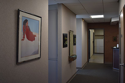 Office Hallway at Michael Yokoyama, D.D.S